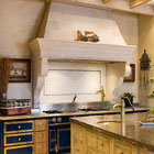 Stone Kitchen canopy
