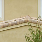 Mediterranean profile straw finish