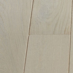 french oak, Albatre white finish