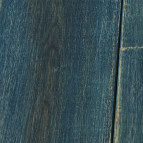 french oak, Blue coat finish