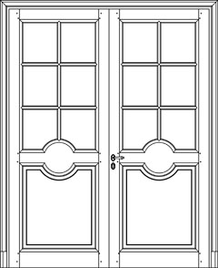 custom manufactured internal timber doors